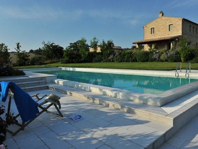 Photo for Country house with three double en suite bedrooms sleeping 7 guests, with pool