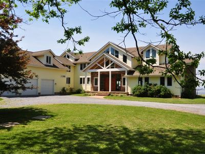 Photo for Luxury and Privacy on the Chesapeake Bay - 50 Acres of protected pines!