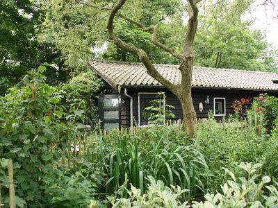 Photo for Luxury detached two-person bungalow on main road in wooded area