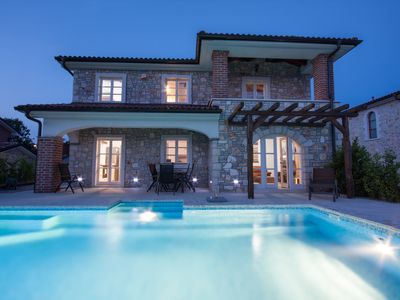Photo for Rustical villa San Marco, 3 bedrooms, pool with counter flow, BBQ