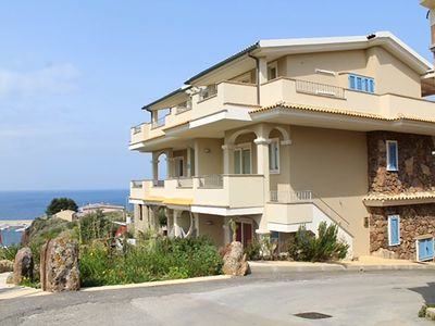Photo for Luxury apartment with stunning sea views and close to sea and shops, WI-FI,clima