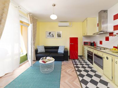 Photo for Near Paris / 2 furnished rooms / Parking / Clim
