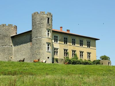Photo for Medieval residence between Biarritz and Dax, Pyrenees view
