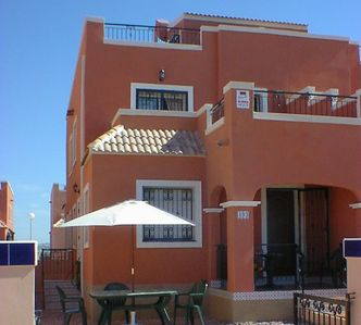 Photo for Excellent 3 bed villa, south facing in quiet location with air conditioning