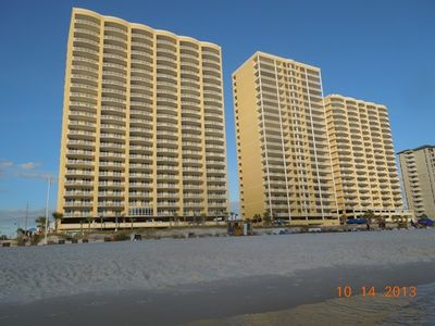 Photo for SAVE$$$~WALK-IN SHOWER~HUGE BALCONY~FREE Beach Chairs~WIFI~King Bed Ocean View