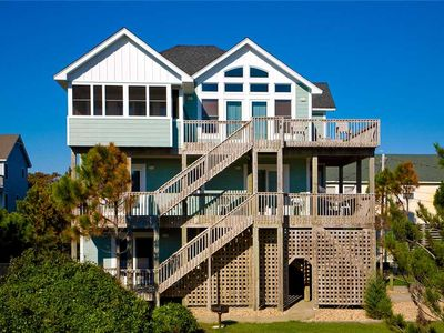 Photo for Walk to Beach & Sound! Oceanview w/ Pool, Hot Tub, Game Rm, Free Pier Passes