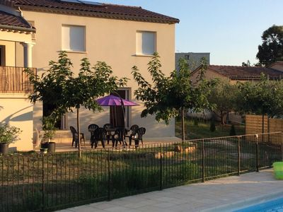 Photo for Cottage with private pool in southern Ardeche, town of Les Vans (07140)