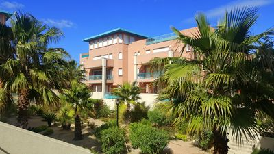 Photo for Port of Porto-Vecchio: T3 with air conditioning, swimming pool, wifi and parking