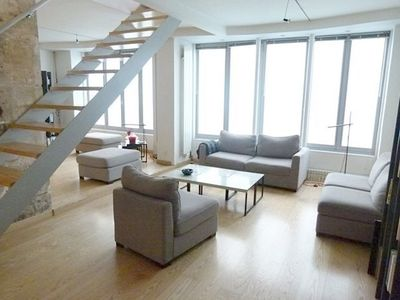 Photo for Charming duplex, furnished and decorated by architect, in a central district.