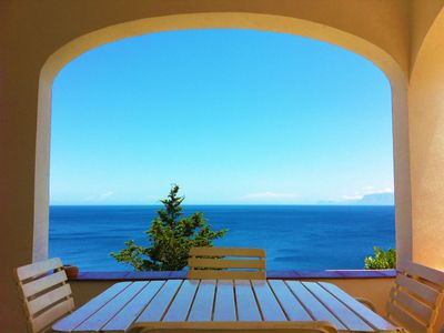 Photo for VILLA ON THE SEA, RELAX WITH BREATHTAKING VIEW