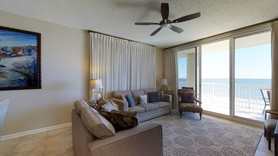 Photo for Picture yourself on this wrap around balcony with Idyllic Gulf views!