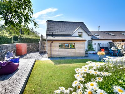 Photo for This fabulous holiday home enjoys a rural farm location yet is just a short drive from the coast at