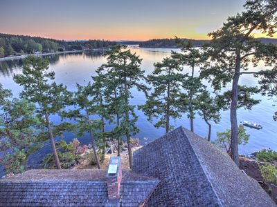 Photo for NEWLY LISTED! WATERFRONT near Roche Harbor with SW Exposure