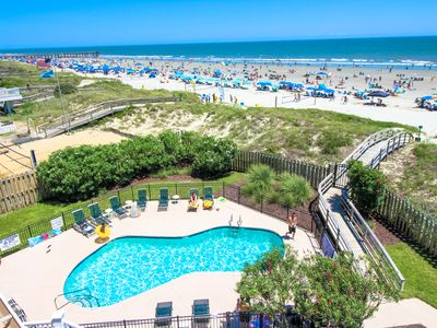 Photo for OCEANFRONT CONDO- STAIRS TO BEACH -  look at condo  #230682  for availabity