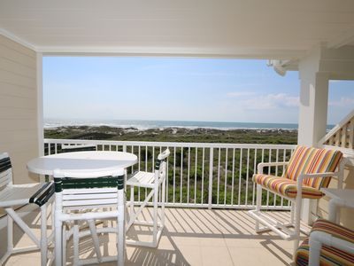 Photo for Wrightsville Dunes 2B-F - Oceanfront condo with community pool, tennis, beach