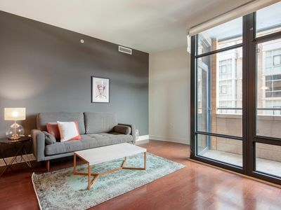 Photo for Modern 1BR in Mt. Vernon w/ Gym, W/D, 2 Pools + Rooftop by Blueground