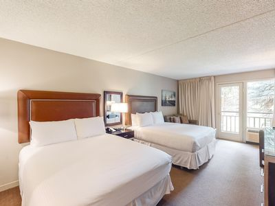 Photo for Room on 2nd floor w/ free airport shuttle, 24-hour front desk, balcony