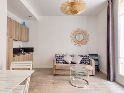 Photo for Two-room apartment with large terrace