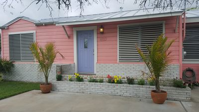 Photo for Adorable 'Pink Bungalow' in  Rockport, Texas