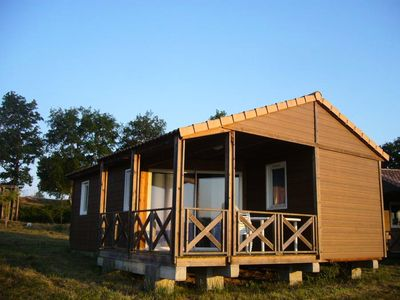 Photo for Les Chalets de Dordogne ** - Chalet 4 Rooms 6 People