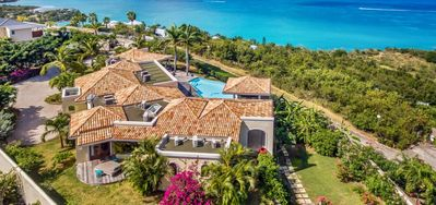 Villa Happy Bay  -  Beach View - Located in  Magnificent Happy Bay with Private Pool