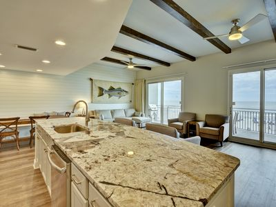Photo for 203 Sterling Breeze 3 br, 3 ba, 2nd floor 1848 sq/ft Gulf Front Condo w/ Free 2019 Beach Service
