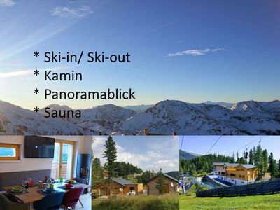 Photo for Chalet Turrachsee - Your holiday home on the Turracher Höhe with ski-in / ski-out