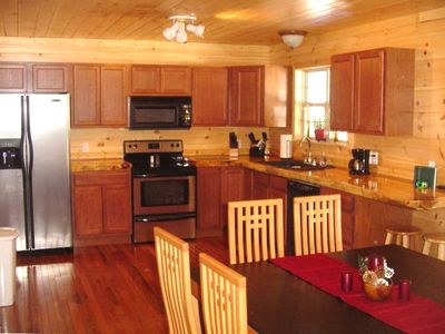 Fully Furnished Kitchen & appliances; Dining Area