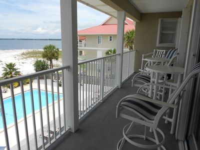 Photo for Quiet and Beautiful Navarre Beach soundside 3 BDR Condo