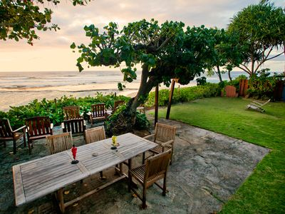Photo for Best Secluded Swimming And Surfing Beach On The North Shore - 30 days or more