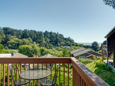 Photo for Ocean View! Private apartment, allergen free, less than 2 blocks to the beach.