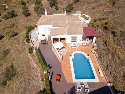 Photo for Spacious villa and studios in Viñuela, close to the coast (Torre Del Mar)