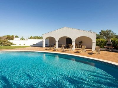 Photo for Elegant Menorcan holiday home with stunning pool in Ferreries