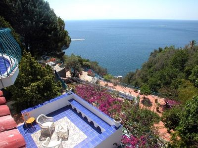 Photo for Amalfi Villa for twelve guests with views and pool