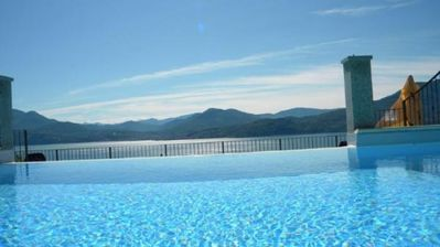 Photo for 3-room apartment with panoramic pool in an architecturally charming residence