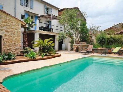 Photo for Semi-detached house, Puimisson  in Hérault - 10 persons, 5 bedrooms
