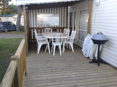 Photo for rented mobile home on camping 4 stars