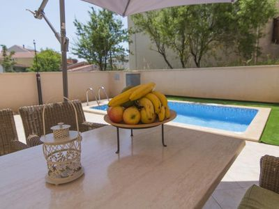 Photo for ctma221 - Modern furnished apartment with a private pool in Makarska, 4+1 persons