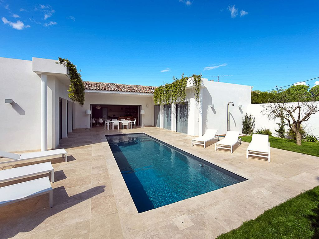 Connu Luxueuse villa contemporaine avec piscine à Marilyn Maison  YR76