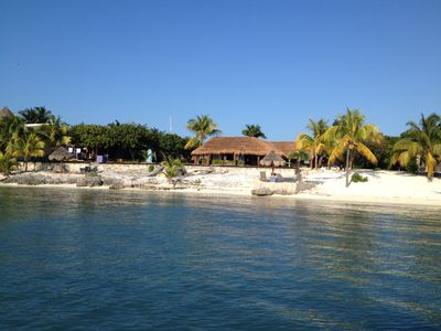 Villa Makax from the water