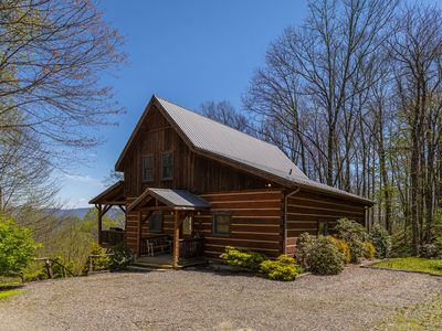 Photo for Van Beek's Peak - Pet Friendly Cabin in Valle Crucis, Great Views, Hot Tub and fire pit