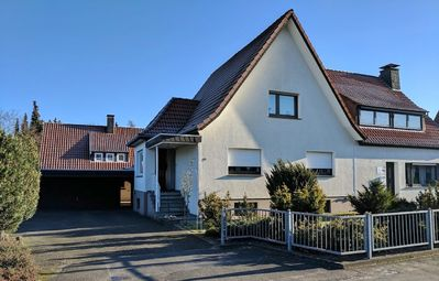 Photo for Lovingly furnished apartment 55 sqm, 1 to 3 pers., In the Teutoburg Whale