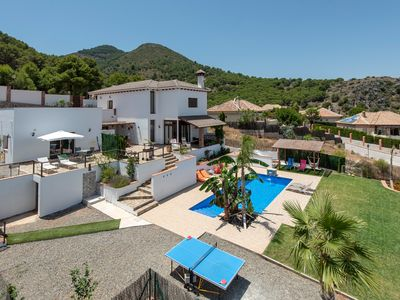 Photo for New fabulous luxury villa with 6 bedrooms, beautiful views and pool