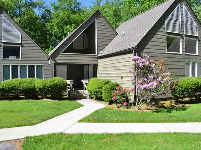 Photo for Townhouse in River Run, one level living in the Heart of Resort