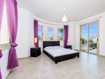 Photo for Luxury  spacious villa with 4 bedrooms in Pernera,  Protaras.