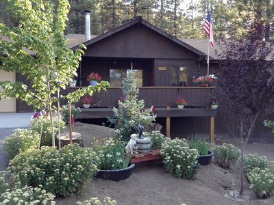 Photo for Cozy Pine Mountain Club Cabin get away! SNOW! SNOW! 1 hour from L.A. !!!!