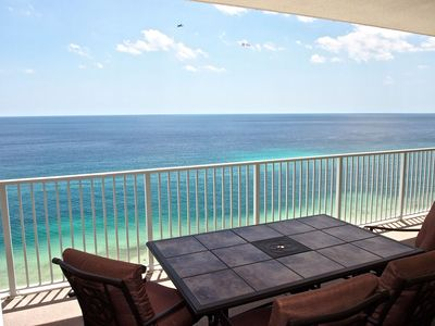 Balcony view - Balcony view from Ocean Reef #1802