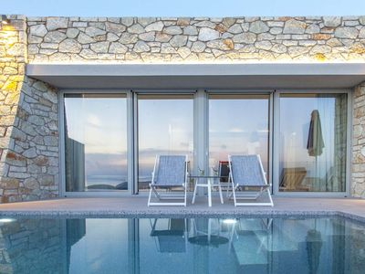Photo for EarlyJuly Offer -10% At 2  Bedroom SivotaSunset Villa With Pool&Views Until 18/7