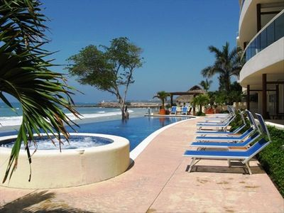 Photo for Surf! Fish! Beach! Pool! View! Deluxe & Comfortable!