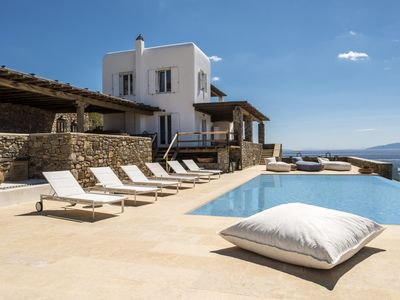 Photo for Beautiful 8 Bedroom Cecile Villa in Mykonos. Contact Exceptional Villas for best rates!